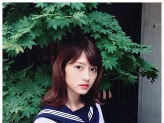 元乃木坂46若月佑美、セーラー服姿にファン歓喜「ただただ可愛い」