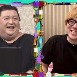 マツコ・デラックス、HIKAKIN (C)日本テレビ