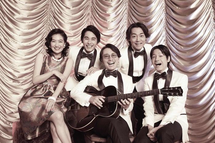 (左から)木竜麻生、中村蒼、安田章大、福士誠治、佐野晶哉(提供写真)
