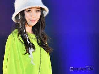 「Seventeen」田鍋梨々花、トレンドファッション着こなし スポーティー×フェミニンルックが可愛い<TGC SHIZUOKA 2019>