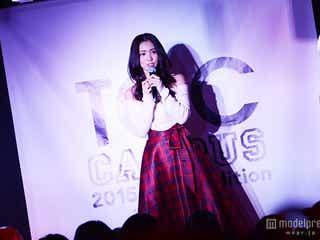 台湾で話題沸騰の美女・池端レイナ、日本で初ライブパフォーマンス 透明感溢れる歌声で魅了