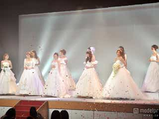 人気モデルがウエディングドレスで競演!剛力彩芽・スザンヌも観客を魅了<写真特集>