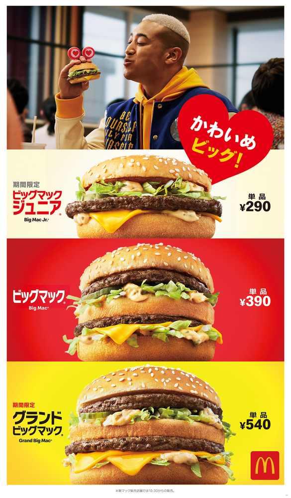 ビッグマックシリーズ/画像提供:日本マクドナルド