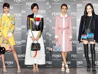 森星ら豪華ゲストがドレスアップで集結 「FENDI」ポップアップストアが銀座にオープン