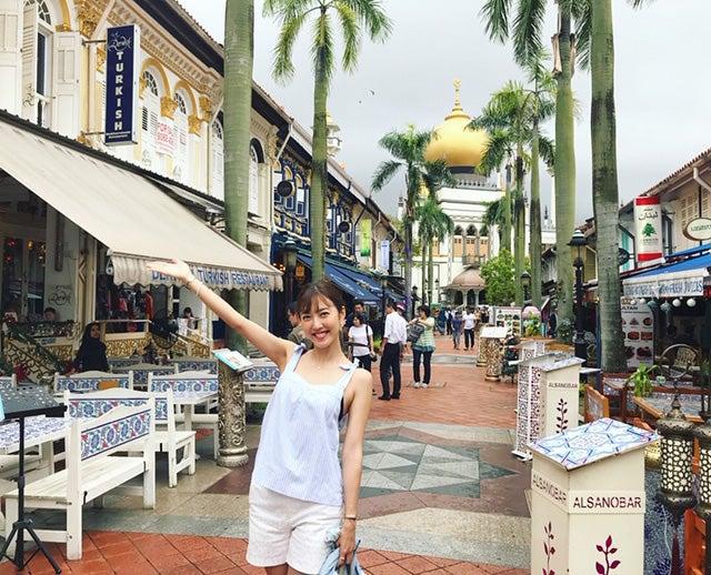 多国籍の人種が集まるハブである、シンガポール。学生時代にインターンシップで訪れ、半年間色んな文化に触れながら住んだ場所。/小澤陽子アナウンサー(提供写真)