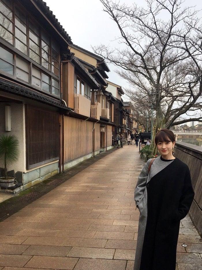 国内旅行で金沢へ。旅行はリフレッシュできる時間です。(提供写真)