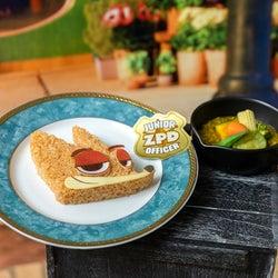 「ズートピア」OH MY CAFE開催、ニックの野菜カレーやジュディのニンジンペンサンド