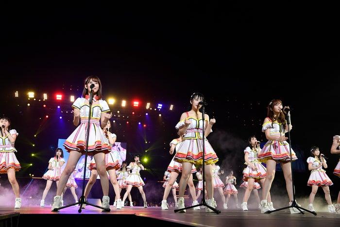 しぇからしか「HKT48春のアリーナツアー2018~これが博多のやり方だ!~」/さいたまスーパーアリーナ(C)AKS