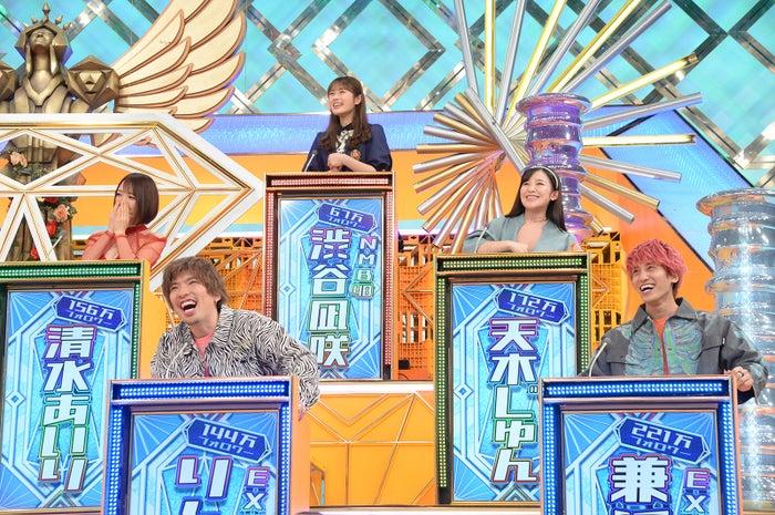 (上段)渋谷凪咲(中段左から)清水あいり 、天木じゅん(下段左から)りんたろー。、兼近大樹(C)ABCテレビ
