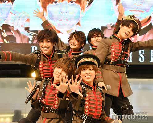 風男塾、新体制後初シングル「Dash&Daaash!!」リリースイベント開催