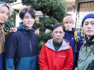 JO1・豆原一成 初のお芝居にドキドキ!ナイナイ岡村&メンバーとの共演で「和やかに撮影できた」