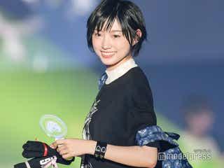 NMB48太田夢莉、色白美脚のぞくストリートスタイル<関コレ2019A/W>
