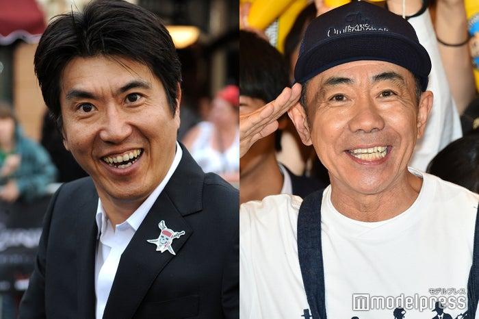 とんねるず/石橋貴明(左:Getty Images)、木梨憲武(C)モデルプレス