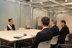 日本赤十字社訪問の様子