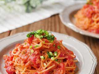 「ツナ味噌トマトパスタ」の簡単レシピ【すぐ麺】
