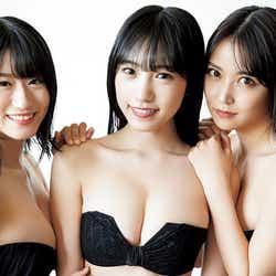 モデルプレス - NMB48白間美瑠・上西怜・横野すみれ、SEXY黒ビキニで美ボディ全開