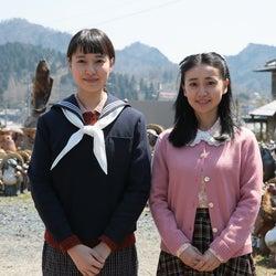 戸田恵梨香、セーラー服に「15歳、いけるな」<スカーレット>