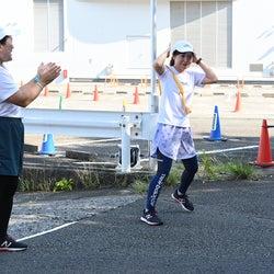 「24時間駅伝」よしこ完走 3区・水卜麻美アナがスタート