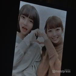 渡辺美優紀とのTikTok動画「AKB48矢作萌夏ソロコンサート~みんなまとめてすちにさせちゃうぞ~」 (C)モデルプレス