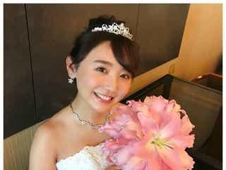 おのののかがウエディングドレス姿披露「理想の花嫁」「結婚したい」ファン絶賛の美しさ