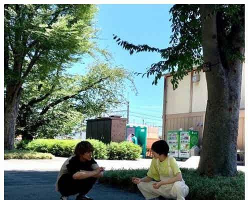 「プロミス・シンデレラ」二階堂ふみ&眞栄田郷敦、ハグシーン裏側に反響「可愛すぎ」「オフでも早梅と壱成のまま」