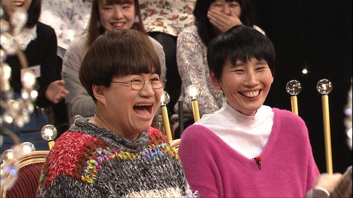 ハリセンボン/左から近藤春菜、箕輪はるか(C)日本テレビ
