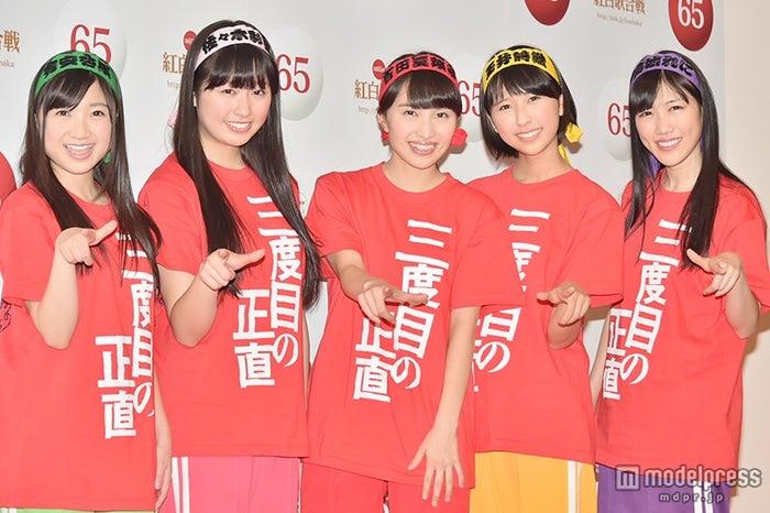 「第65回 NHK紅白歌合戦」のリハーサルを行ったももいろクローバーZ【モデルプレス】