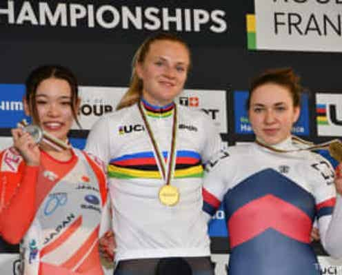 2021年UCIトラック世界選手権大会(フランス・ルーベ)佐藤水菜選手が女子ケイリン史上初の銀メダル獲得!