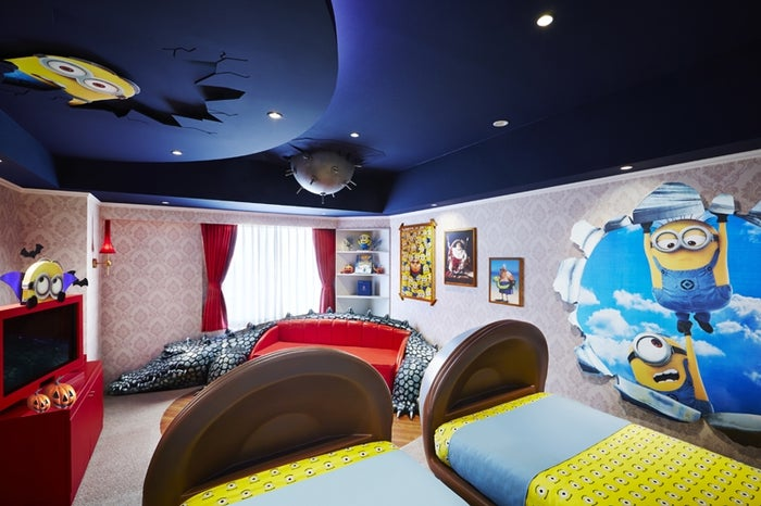 「Minions Room」/画像提供:ホテル ユニバーサル ポート