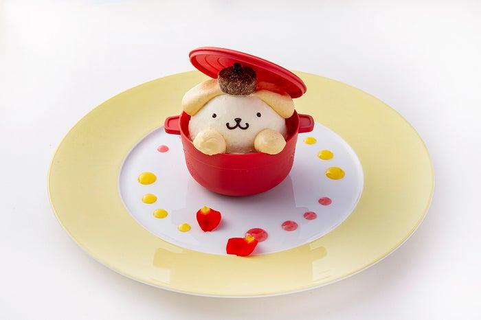 鍋からひょっこりポムポムプリン 1,000円 (提供画像)