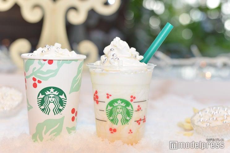 スタバ、濃厚ホワイトチョコがミルキー!雪のような真っ白新ドリンク<試飲レポ>