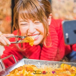 """くみっきーらがお肉料理かけて熾烈なバトル """"フォトジェ肉""""な撮影テクとは<Kawaii JAPAN-da!!>"""