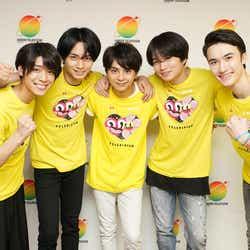 メインパーソナリティーを務めたSexy Zone(C)日本テレビ