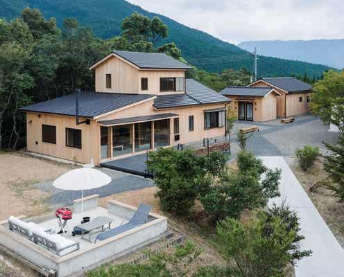 和歌山・熊野古道に宿泊施設「SEN.RETREAT TAKAHARA」木の温もりある古民家宿