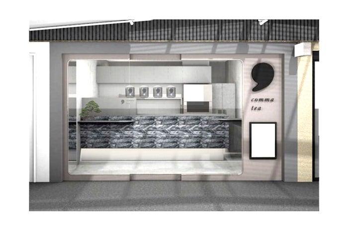 comma tea 阪急石橋阪大前駅ナカ店/画像提供:ティーカンパニー