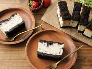 オレオで作る!濃厚アメリカンなクッキークリームチーズケーキ