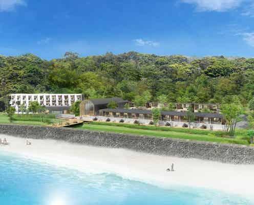 長崎・福江島にオーシャンフロントホテル等の滞在施設、2022年オープン