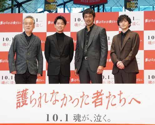 佐藤健&阿部寛、撮影時の「かっこいい!」コールが苦手、映画イベントで意外な一面披露