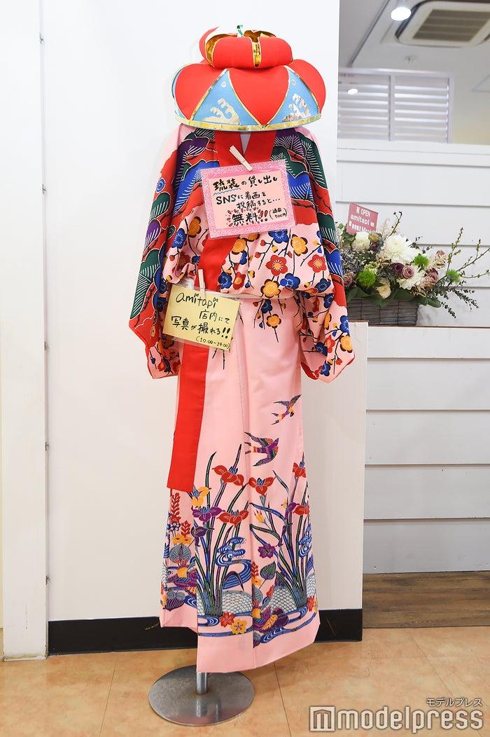 琉装も貸出/SNSに着画を投稿すると商品が500円のドリンクが無料に(C)モデルプレス