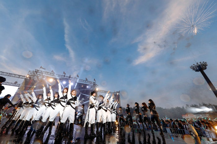 欅坂46/「欅共和国」撮影:上山陽介