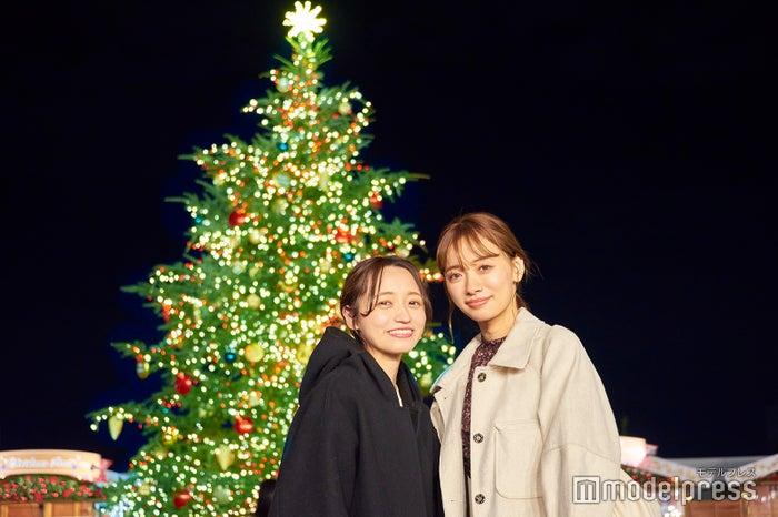 天然のもみの木のクリスマスツリー(C)モデルプレス