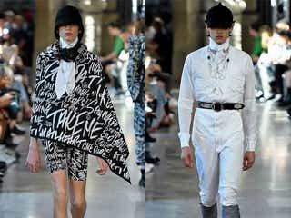 20年春夏パリ・メンズコレクション 作り込んだ解体服をミニマルに=タカヒロミヤシタザソロイスト