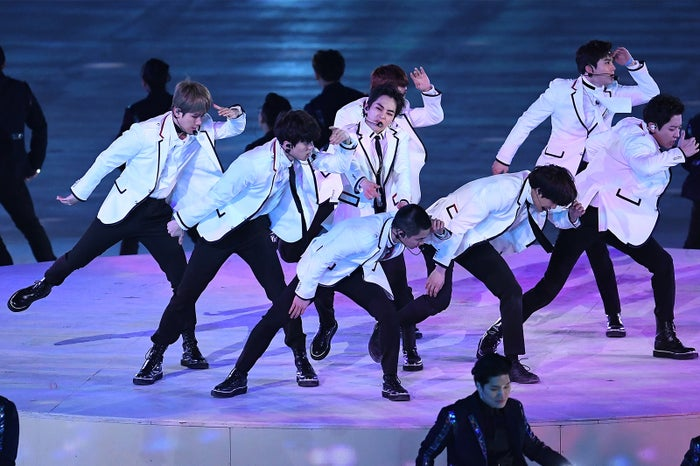 EXO/平昌五輪閉会式 photo:Getty Images