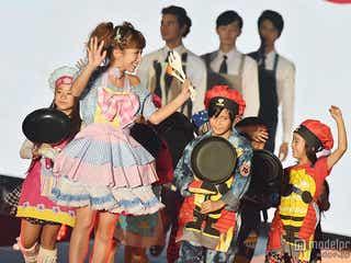 辻希美、エプロン姿で子供たちと登場 得意料理を明かす