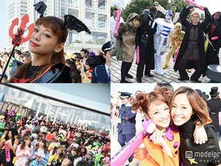 <写真特集>西内まりや、小森純&鈴木奈々、超特急らの仮装パレードに歓声 日本最大級のハロウイーン「T-SPOOK」開幕