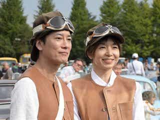 唐沢寿明&山口智子、15年ぶり夫婦で出場 ペアルックで東北チャリティーイベント参加