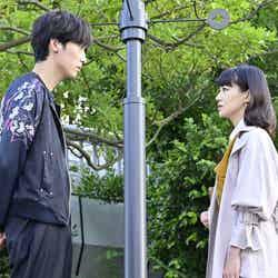 杉野遥亮、奈緒 「恋です!~ヤンキー君と白杖ガール~」第2話より(C)日本テレビ