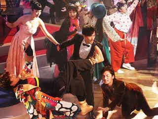 稲垣・草なぎ・香取が歌って踊る「クソ野郎と美しき世界」予告解禁