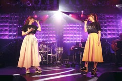 MACO&E-girls鷲尾伶菜、コラボ曲初披露にフリートーク「大好きな親友が来てくれて…」