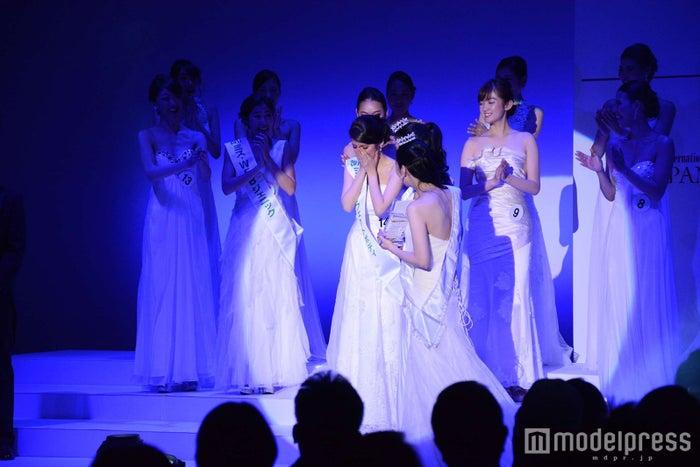 「「2018 ミス・インターナショナル日本代表」決定の瞬間 (C)モデルプレス
